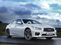 Infiniti has Germans in its sights