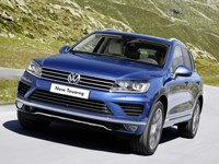 2015 VW Touareg review
