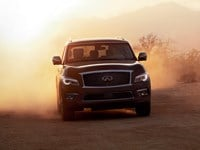 Infiniti QX80 is a powerful charmer