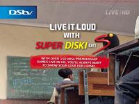 SuperDiski Suitcase: ''Live It Loud'' (Print)