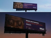 Hollard (Outdoor): The Sleeping Billboard