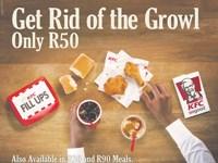 KFC (Print Ad): KFC Fill Ups