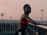 Kyle Lewis directs Caster Semenya tribute for Nike