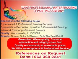 Vaal Professional Painting and Waterproofing Company