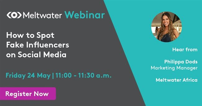 Meltwater Webinar | How to Spot Fake Influencers