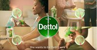 New Dettol TVC looks from inside the womb