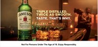 See first female narrated Jameson ad