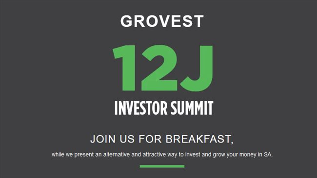 Grovest 12J Investor Summit