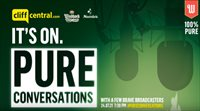 Watch Pure Conversations podcast presented by Gareth Cliff