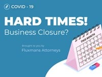 In Flux: Coronavirus - Hard Times! Business Closure?