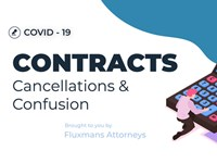 In Flux: Coronavirus - Contracts, Cancellations & Confusion