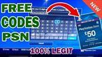 Free PSN Cheat Hack Codes 2020