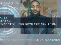#BizTrends2021: Musa Kalenga: The API Humanity - New ways for new days.