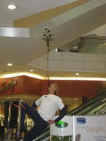 Circus acts and prizes delight shoppers at Eastgate Shopping Centre