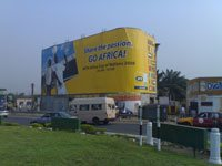 Alliance Media unveils largest building wrap for the Africa Cup of Nations