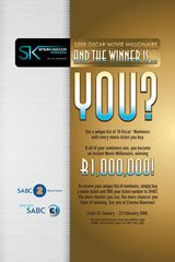And the winner is? You! 34 helps Ster-Kinekor to shine in Oscars' limelight
