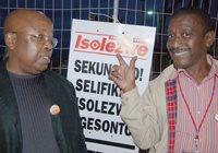 Langa Mseleku and Dumi Shabalala