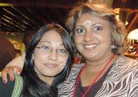 Rakshika Maharaj and Irene Gilbert