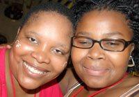 Kiki Ntuli and Nonhlanhla Shangase