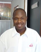 Scan Display Botswana's Sales Manager, Zaid Ramina.