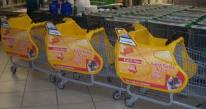 In-store cart campaign to help fight colds and flu