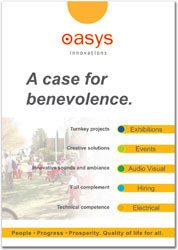 Oasys demonstrates corporate responsibility