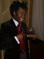 Highway Africa Digital Journalism Awards - Individual/Student winner:Khaya Dlanga. Powered by Nokia