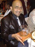 Highway Africa Digital Journalism Awards - Non-profit winner: Nirmal Shah of Seychells. Powered by Nokia