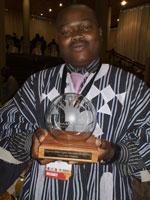 Highway Africa Digital Journalism Awards - Corporate winner: Noel Kokou Tadegnon of Togo. Powered by Nokia