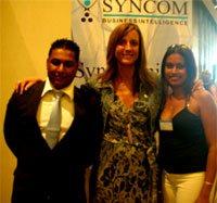 Shikaar Juglall and Joanne Balwanth with Deborah Patta of e.tv.jpg