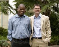 Rapule Tabane, incoming deputy editor-in-chief and Nic Dawes, incoming editor-in-chief, of the Mail & Guardian.