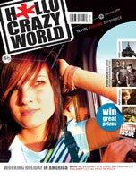 HalloCrazyWorld magazine launch