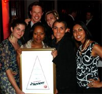 HDI Youth Marketeers receives a Hot Shop Award at the AdReview Awards 2009.