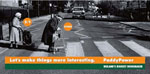 """Paddy Power - Ireland - Banned as """"the betting odds referred to each woman's chances of either being knocked down by the truck were offensive and demeaned older people"""""""