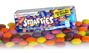 No more fake colours for Smarties