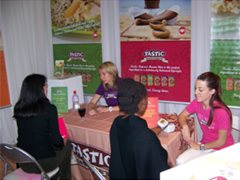 The Tastic Nature's Choice stand at the Women's Expo