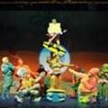 SpongeBob hits the stage
