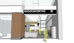 Woolies' second airport store takes flight
