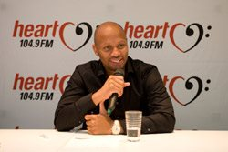 Phat Joe joins Heart 104.9FM