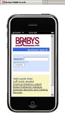 Ananzi announces no more irritating voice prompts! Brabys.com introduces mobile directory