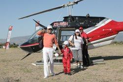 Julian Naidoo, Liam and mom Karen Cupido and Ryan O'Malley