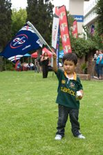 Mogamad Nur Scello; even Heart's youngest listeners were there to greet the Vodacom Stormers 2010 team