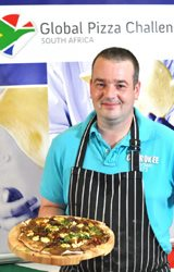 GPC 2010 winner, Neil Jewell with his Aubergine and Confit Karoo Lamb with Buchu creation.