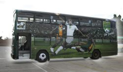Nedbank Cup Soccer Tournament takes the bus with Provantage Media