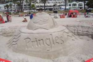 Tradeway's beach activation delivers exponentially for Pringles