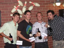 Skittles down for Mindshare in ABF's ten-pin bowling tournament