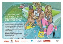 Afrikaans is cool and full of bounce, the 2010 Pendoring campaign shows
