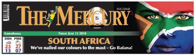 The Mercury nails its colours to its mast(head)!