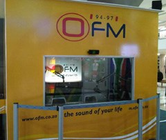 The OFM Soccer Headquarters at the Loch Logan Waterfront in Bloemfontein.
