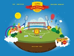 The OFM on-line soccer games – play against Oscar, the OFM mascot and see how many goals you can score - the winner gets an OFM Foosball table.